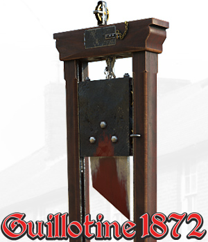 Guillotine 1872 by Cybertenko