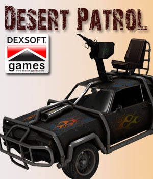 Desert Patrol Vehicle by dexsoft-games