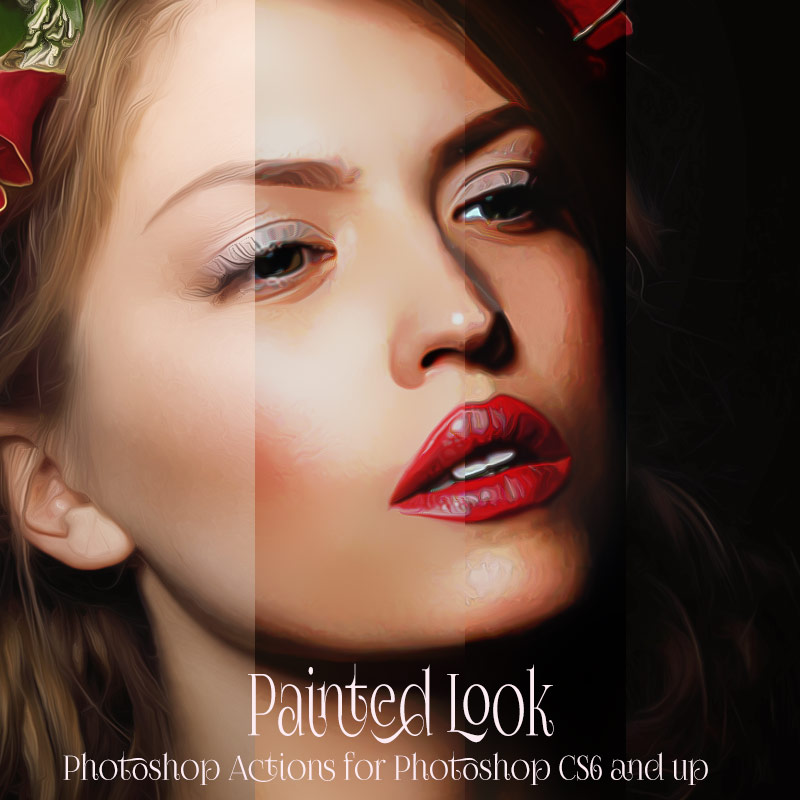 Painted Look Photoshop Actions