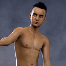 Teen Males - Shapes for Genesis 3 Male image 2