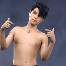 Teen Males - Shapes for Genesis 3 Male image 5