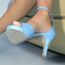 Lysithea Shoes - for Genesis 3 image 3