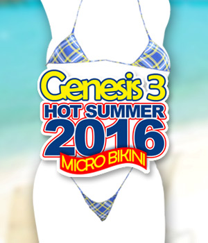 Hot Summer 2016 - Micro Bikini G3F 3D Figure Assets powerage
