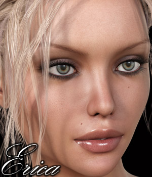 Erica for Genesis 3 Female 3D Figure Essentials RPublishing