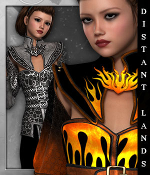 Distant Lands for Fire Lilly 3D Figure Essentials sandra_bonello