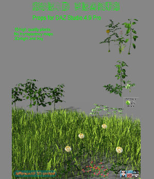 Solid Plants 3D Models JeffersonAF