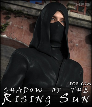 HFS Shadow of the Rising Sun for Genesis 2 Male 3D Figure Assets 3D Models DarioFish