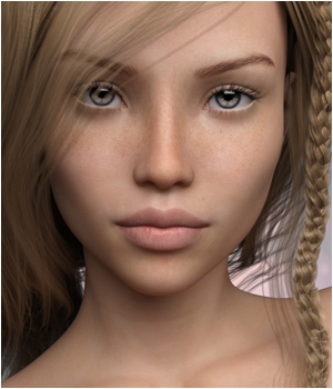 P3D Lara for Genesis 3 Female 3D Figure Essentials P3Design