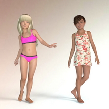 The Girls - Shapes for Genesis 3 Female image 2