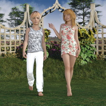 The Girls - Shapes for Genesis 3 Female image 5