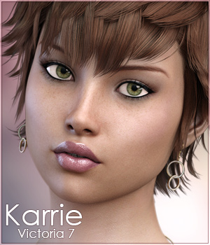 FWSA & 3DS: Karrie for Victoria 7 3D Figure Essentials Sabby