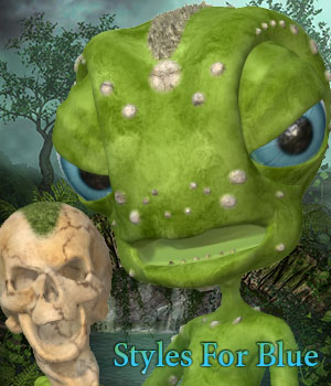 Styles For Blue 3D Figure Essentials fictionalbookshelf