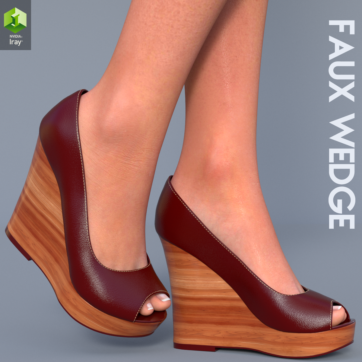 Faux Wedge