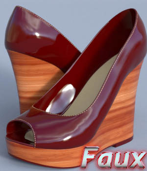 Faux Wedge 3D Figure Assets OneSix