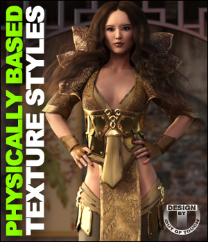 OOT PBR Texture Styles for Lotus Maiden 3D Figure Essentials outoftouch