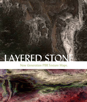10 Seamless Layered Stone Texture with Bump Maps 2D nelmi