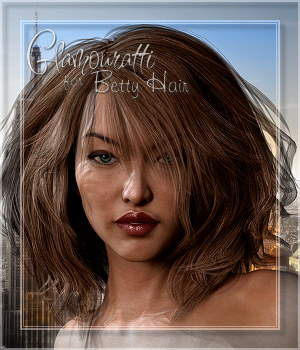 Glamouratti for Betty Hair 3D Figure Assets Spiritfoxy