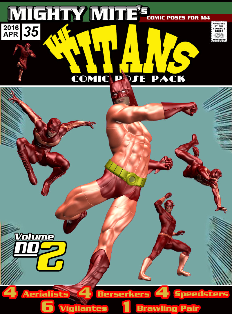 The Titans v02: MM4M by MightyMite