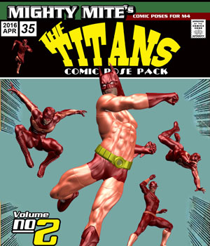 The Titans v02: MM4M 3D Figure Assets MightyMite