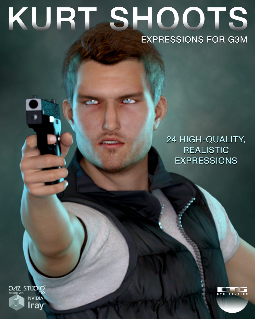 DTG Studios' Kurt Shoots - Expressions for G3M by DTHUREGRIF