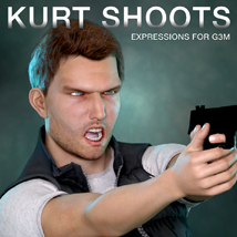 DTG Studios' Kurt Shoots - Expressions for G3M image 2