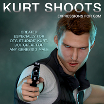 DTG Studios' Kurt Shoots - Expressions for G3M image 3