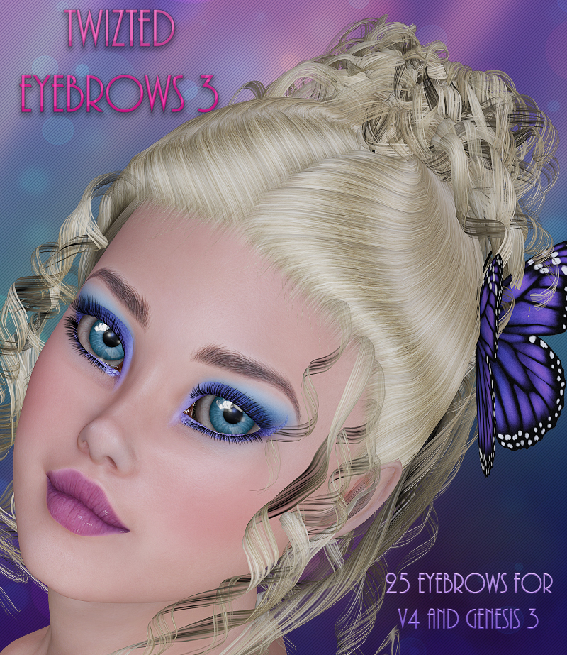 Twizted Eyebrows 3 MR by TwiztedMetal