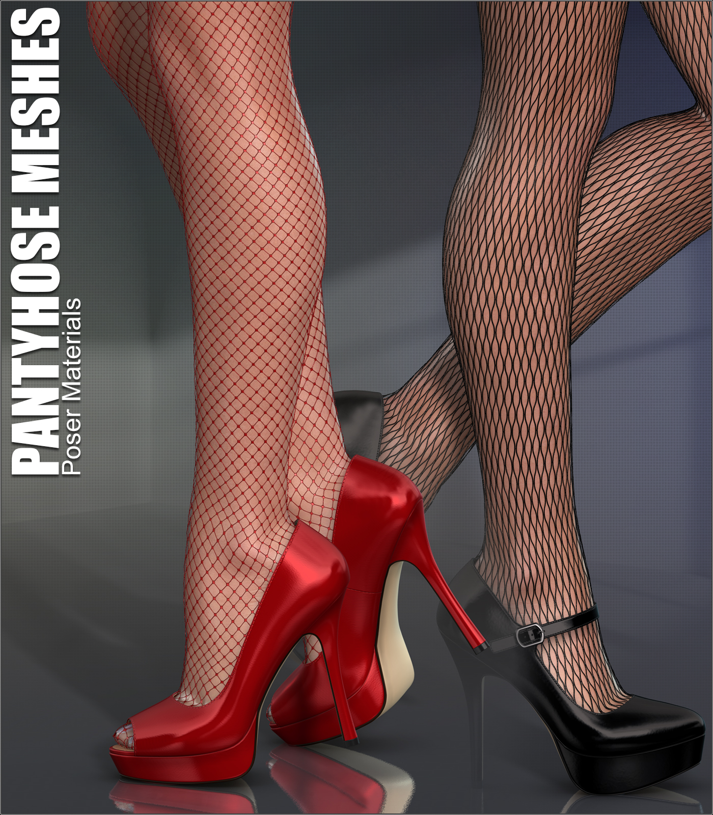Poser - Pantyhose Meshes