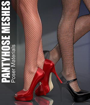 Poser - Pantyhose Meshes 2D Merchant Resources Atenais