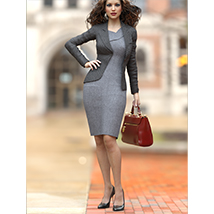Business Outfits Package for Genesis 3 Females image 1