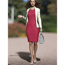 Business Outfits Package for Genesis 3 Females image 2