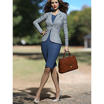 Business Outfits Package for Genesis 3 Females image 4