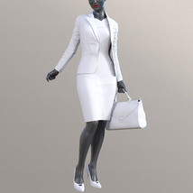 Business Outfits Package for Genesis 3 Females image 9
