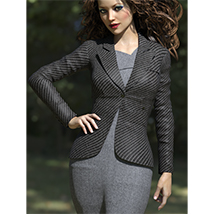Blazer of Business Outfits for Genesis 3 Female  image 1