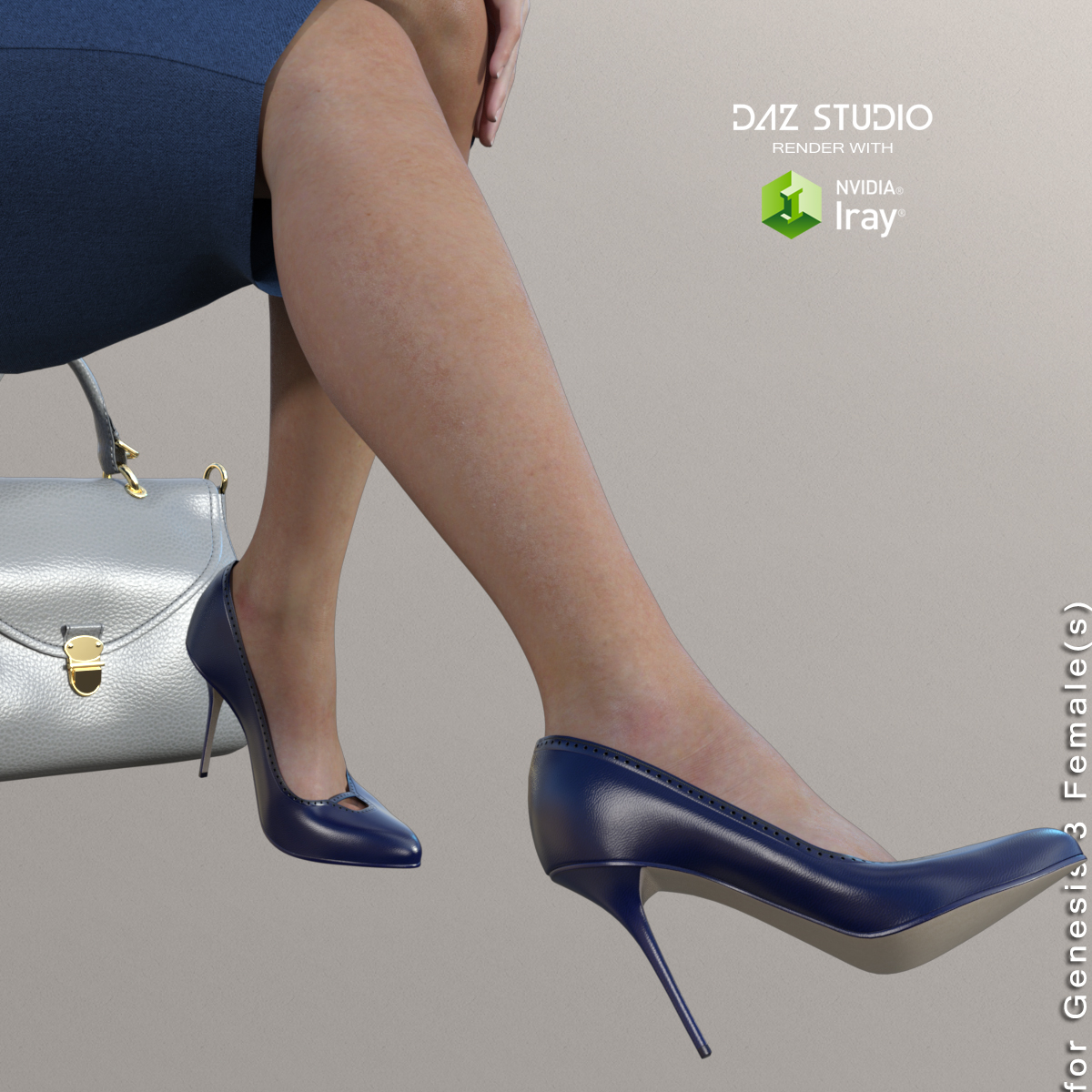 Shoes of Business Outfits for Genesis 3 Female(s)