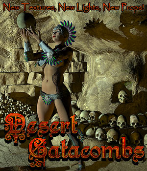 Desert Catacombs by Cybertenko
