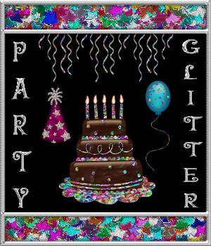 BLING! GLAMOUR GLITTER-Metallic Party Glitter 2D Graphics Merchant Resources fractalartist01