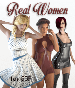 Real Women 3D Figure Assets AliveSheCried