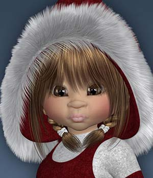 Kiki WinterGirl 3D Figure Essentials Leilana
