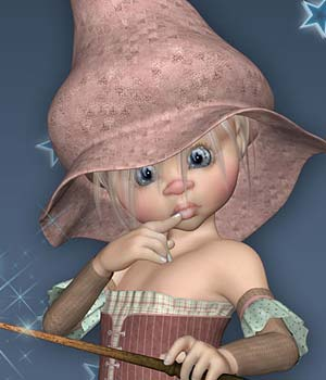 Kiki Little Wood Witch 3D Figure Essentials Leilana