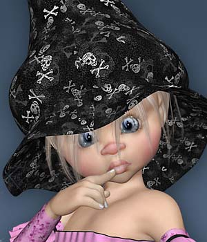 Kiki Little Wood Witch Expansion 3D Figure Essentials Leilana