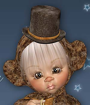 Kiki SnowyTeddy 3D Figure Essentials Leilana