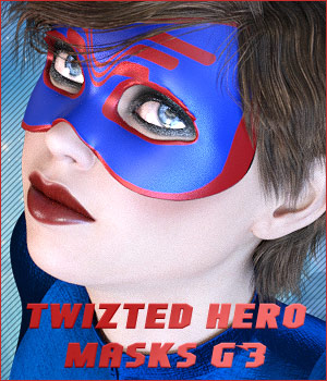 Twizted Hero Masks G3 3D Figure Essentials TwiztedMetal
