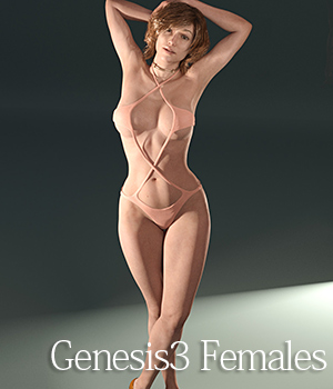 XX for Genesis3 Females 3D Figure Essentials tentman