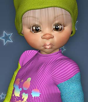 Cold Winter Sweater 3D Figure Essentials Leilana