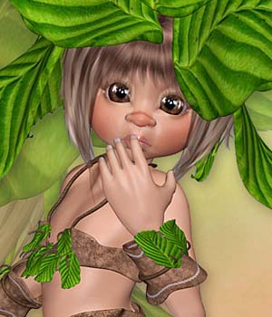 Fairy Nature  3D Figure Essentials Leilana