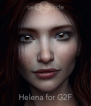 Helena for G2F 3D Figure Assets secondcircle