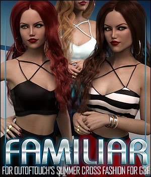 Familiar for Summer Cross Fashion 3D Figure Essentials ShanasSoulmate