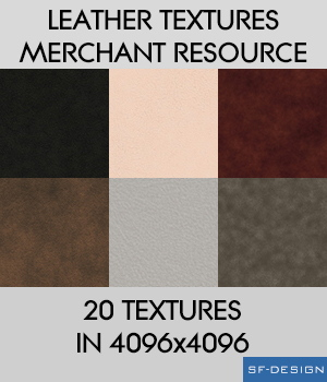 Leather Textures - Merchant Resource 2D Merchant Resources SF-Design