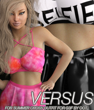 VERSUS - Summer Cross Fashion for Genesis 3 Female(s) 3D Figure Essentials Anagord
